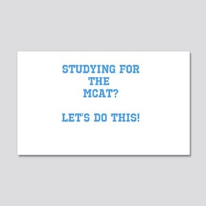 MCAT study Wall Decal