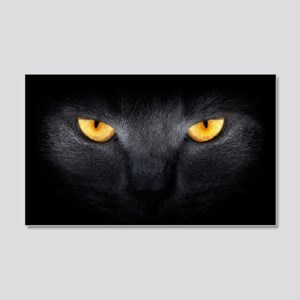 Cat Eyes 20x12 Wall Decal