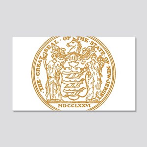 Vintage New Jersey Seal Wall Decal
