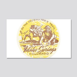 Faded Idaho Springs Colorado Wall Decal