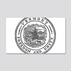 Vintage Vermont seal Wall Decal