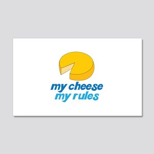 my cheese my rules Wall Decal