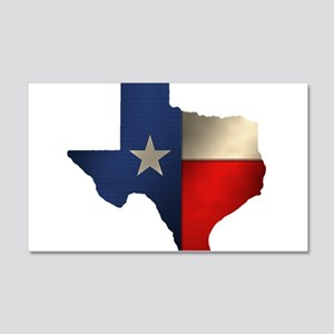 State of Texas 22x14 Wall Peel