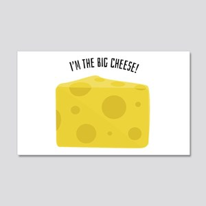 Big Cheese Wall Decal