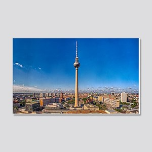 Berlin Sky 20x12 Wall Decal
