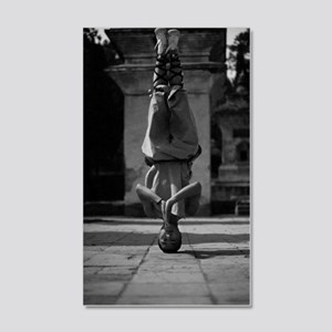Shaolin Master 20x12 Wall Decal