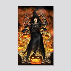 Halloween Witch 20x12 Wall Decal