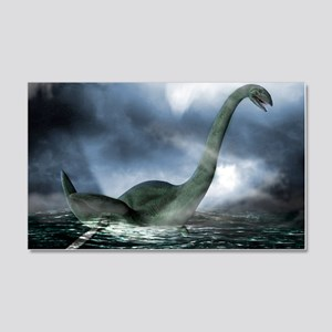 Loch Ness monster, artwork 20x12 Wall Decal