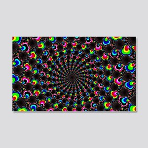 Psychedelic Wormhole 20x12 Wall Decal