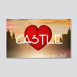 castle1c 20x12 Wall Decal