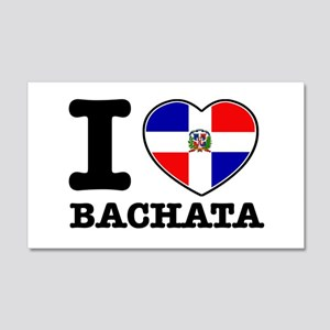 I love Bachata 22x14 Wall Peel