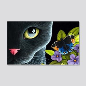 Cat 557 20x12 Wall Decal