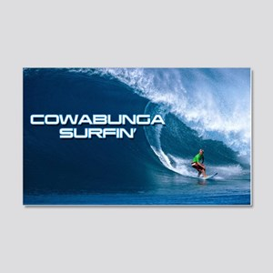 Calender Surfing 4 20x12 Wall Decal