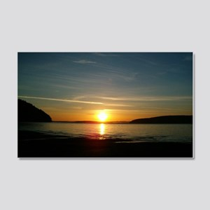 sunset2 20x12 Wall Decal