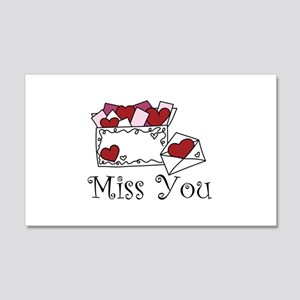 Miss You Wall Decal