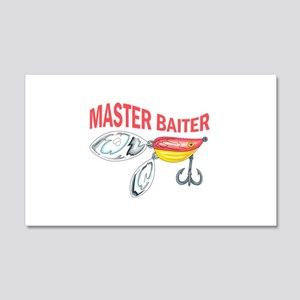 MASTER BAITER Wall Decal