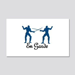 En Garde Wall Decal