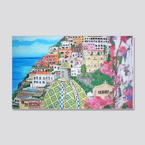 Positano 20x12 Wall Decal