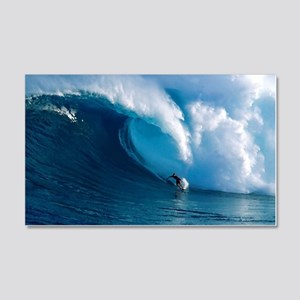 Big Wave Surfing 20x12 Wall Decal