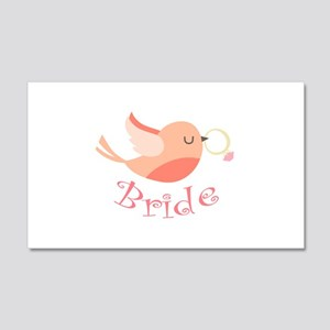 Bride Wall Decal
