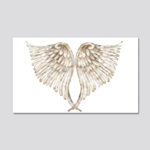 Golden Angel 20x12 Wall Decal