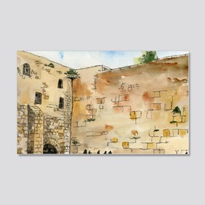 Western Wall 20x12 Wall Decal