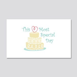 Most Special Day Wall Decal
