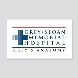 Grey Sloan Memorial Hospital 22x14 Wall Peel