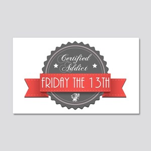 Certified Addict: Friday the 13th 22x14 Wall Peel