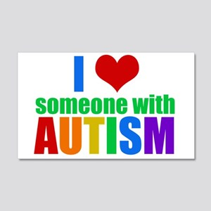 Autism Love 20x12 Wall Decal
