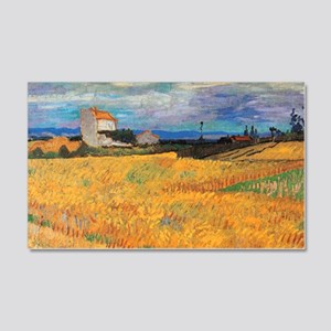 Wheat Field Vincent van Gogh Wall Decal