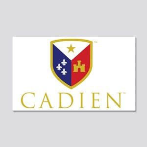 Cadien Logo No Tag 20x12 Wall Decal