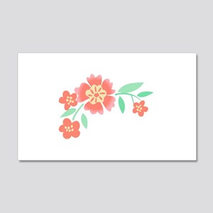 Floral Accent Wall Decal