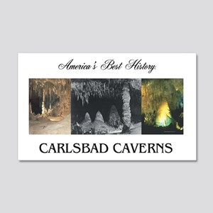 Carlsbad Caverns Americasbesthist 20x12 Wall Decal