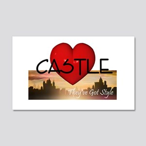Castle 20x12 Wall Decal