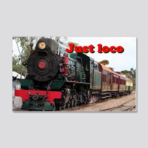 Just loco: Pichi Richi steam engi 20x12 Wall Decal