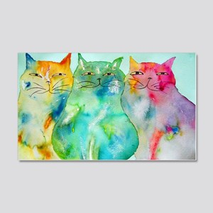 Haleiwa Cats 250 20x12 Wall Decal