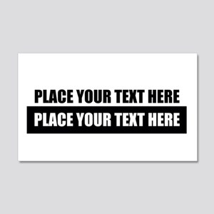 Text message Customized Wall Decal