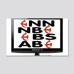 SOCIALIST TV Wall Decal