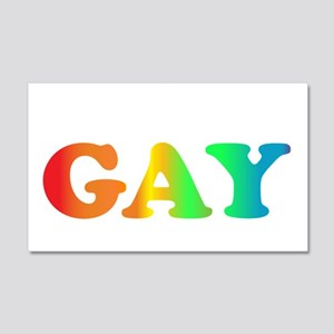 Im not gay2 20x12 Wall Decal