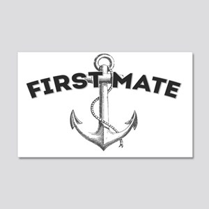 First Mate copy 20x12 Wall Decal
