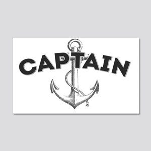 Captain copy 20x12 Wall Decal