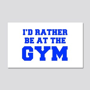 ID-RATHER-BE-AT-THE-GYM-FRESH-BLUE Wall Decal