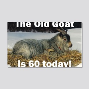 goat60ys 20x12 Wall Decal