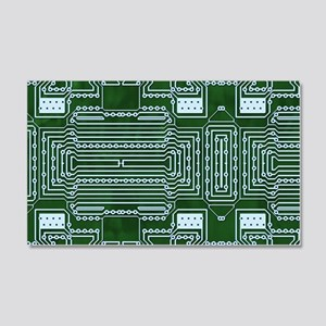 Circuit Board 20x12 Wall Decal