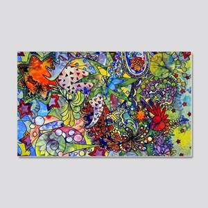 cool Paisley 20x12 Wall Decal