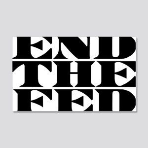 End The Fed W 20x12 Wall Decal