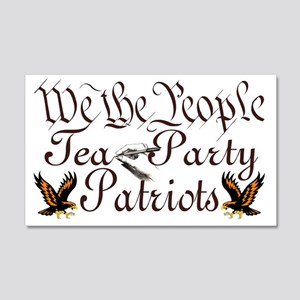 2-We The People 20x12 Wall Decal