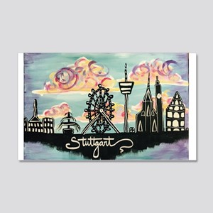 Stuttgart Skyline Wall Decal