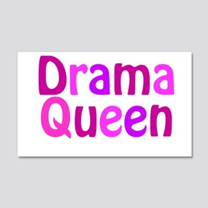Drama Queen 22x14 Wall Peel